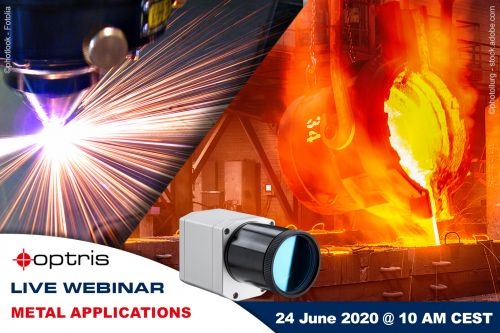 Webinar on non-contact temperature measurement technology in the metal industry