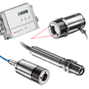 Precise pyrometers and infrared thermometers